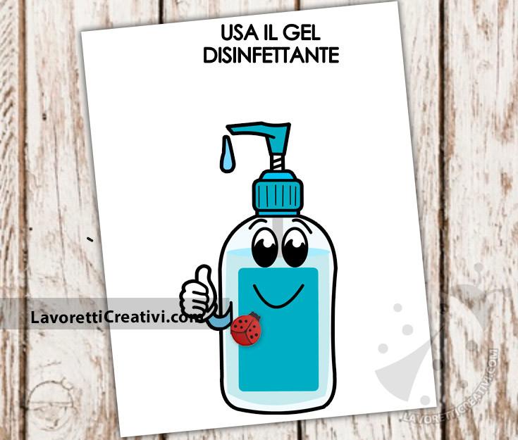 covid gel disinfettante