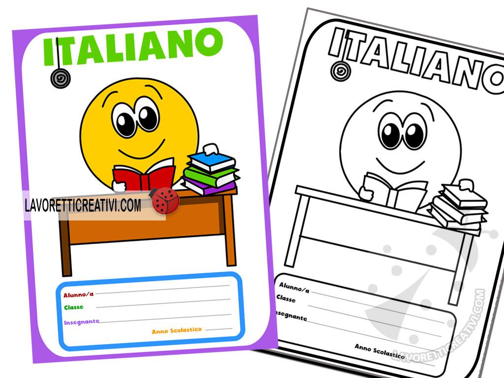 copertine di italiano con emoticon