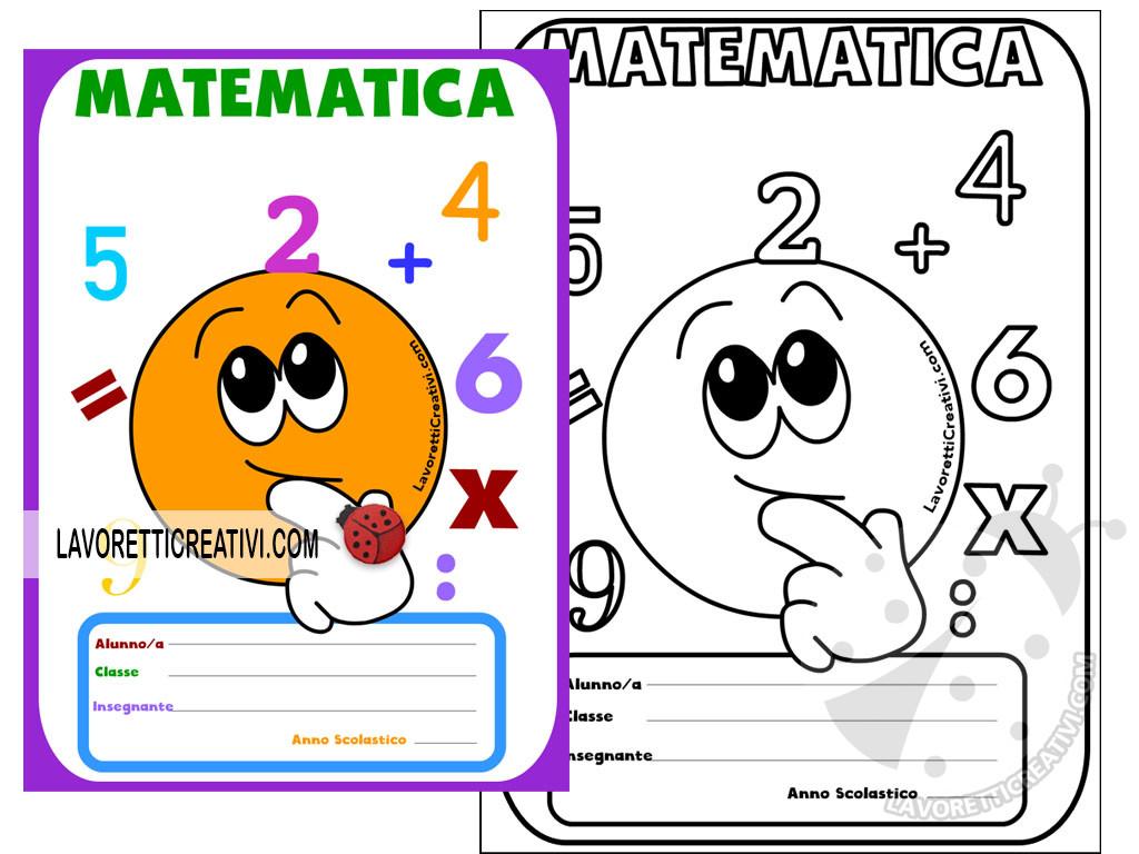 Copertine di matematica scuola primaria