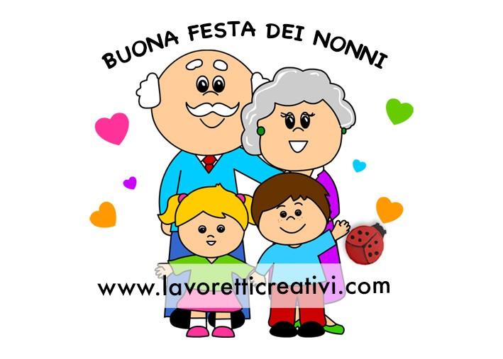Nonni con nipoti Festa dei Nonni