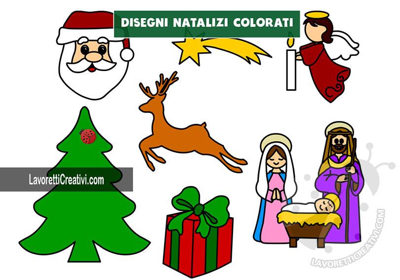 disegni di natale colorati