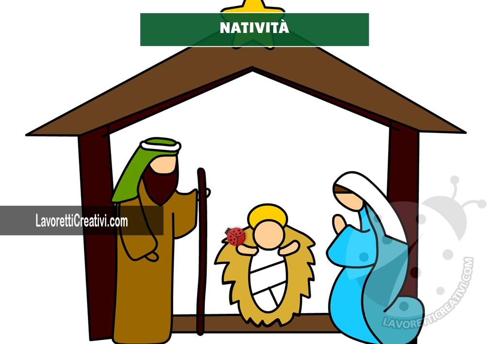 Natività di Gesù a colori