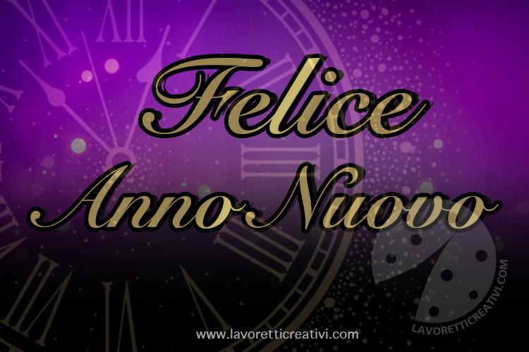 cartolina Felice Anno Nuovo