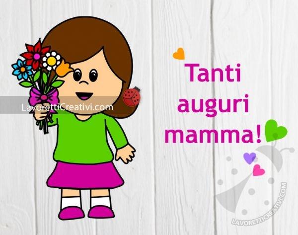 immagine di auguri per la mamma