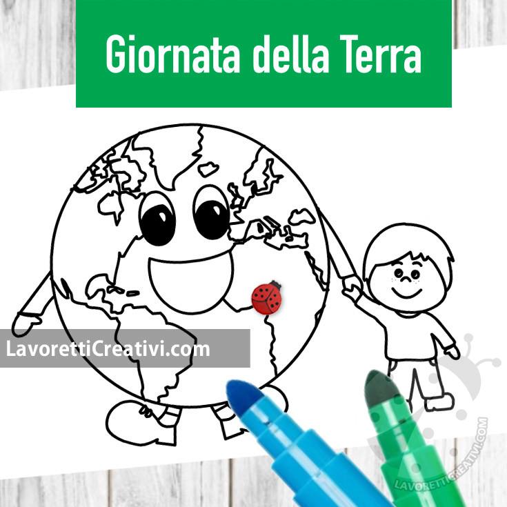 Disegno sulla Giornata della Terra per bambini