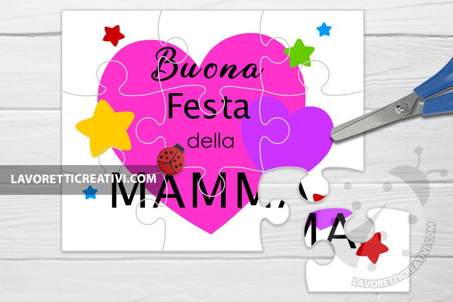 Puzzle per la Festa della Mamma