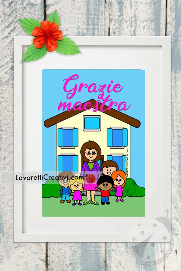 ringraziamento maestre scuola materna